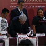 Como primer decreto AMLO crea la Comisión de la Verdad por Caso Ayotzinapa