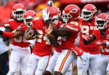 Chiefs y Chargers