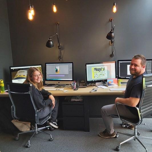 grafisch design team van Publilemon