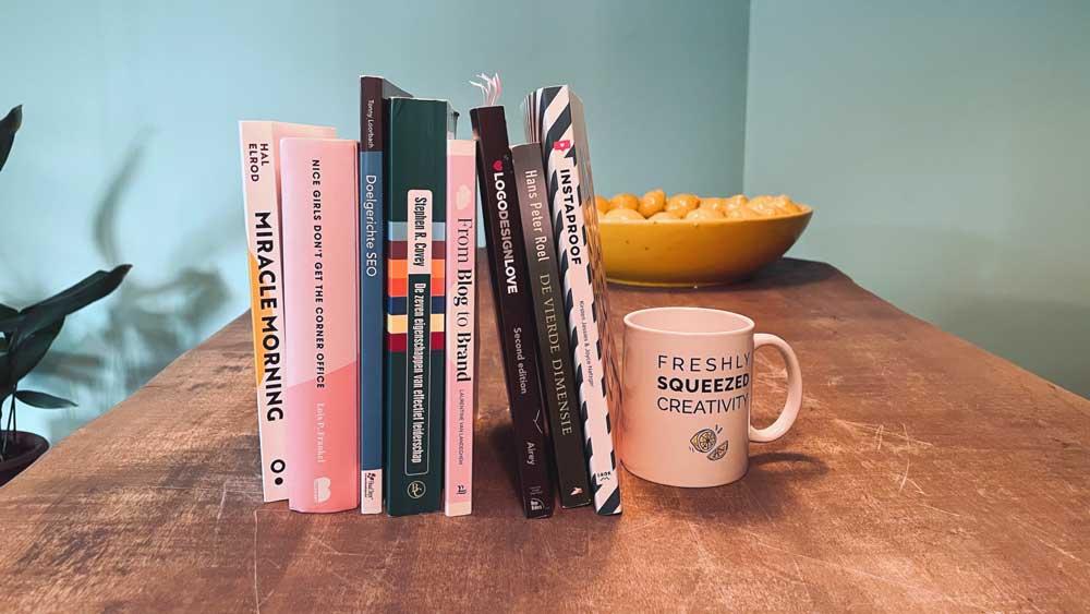 Een handige collectie van boeken voor ondernemers