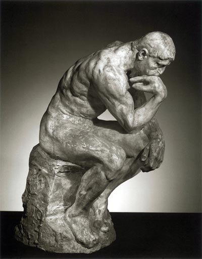 The Thinker - Rodin sculpture