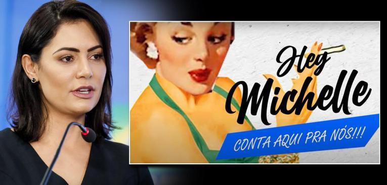 Michelle Bolsonaro quer censurar a música Micheque, dos Detonautas - Brasil 247