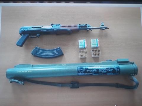Oduzeto oružje, Cetinje