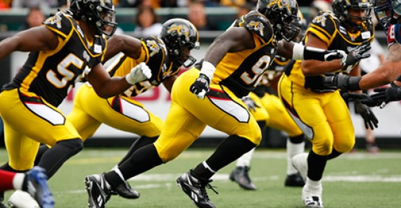 Tiger-Cats kickoff