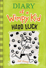 1.3 million copies of Diary of a Wimpy Kid: Hard Luck were sold in the book's first week of release. - peoplewhowrite