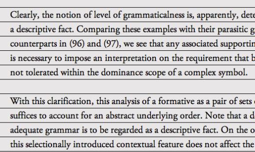 Text in vertical rhythm