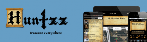 The Huntzz app allows museum-goers to
