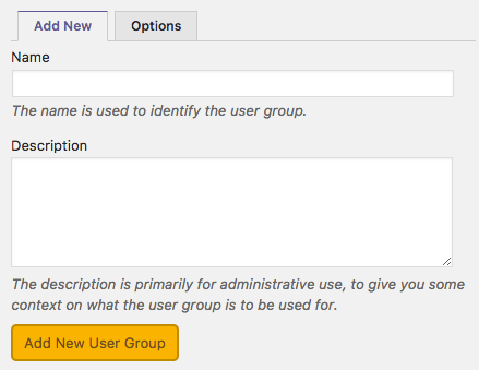 Adding new user groups in PublishPress