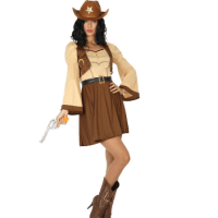Déguisement Cowgirl robe