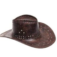 Chapeau Cow-boy Cuir