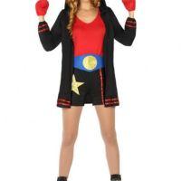 Déguisement boxeuse femme