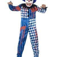 déguisement clown arlequin