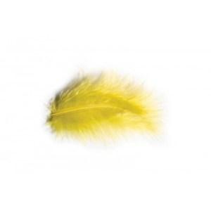 Sachet plume jaune