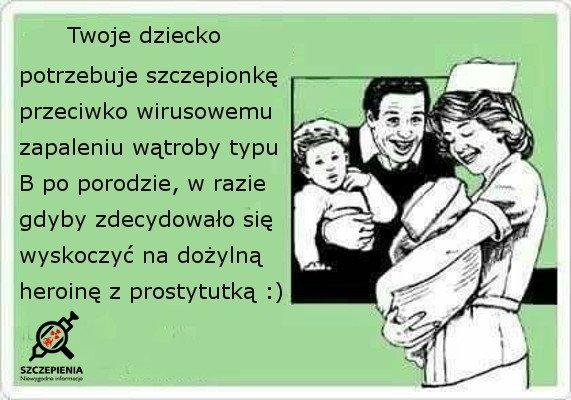 Szczepionka WZW B dla noworodków