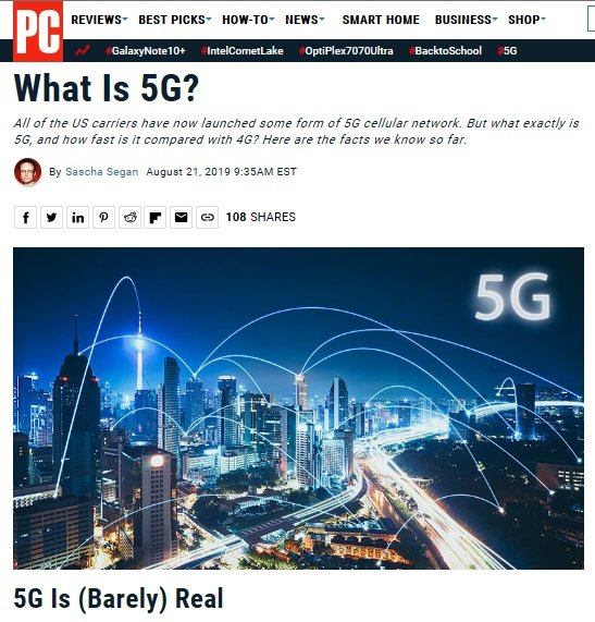Co to jest 5G