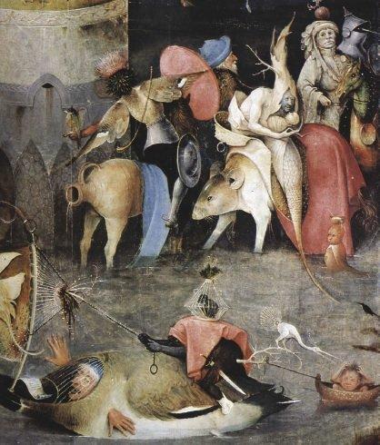 Kuszenie św. Antoniego namalowane przez Hieronima Boscha - Ciąża, Odporność, Schizofrenia i Autyzm