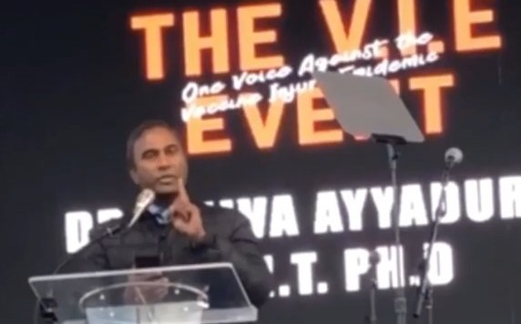 Dr Shiva Ayyadurai o szczepionkach