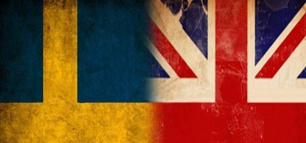 Porównanie zamkniętej Wielkiej Brytanii z otwartą Szwecją. Zapadalność i zgony