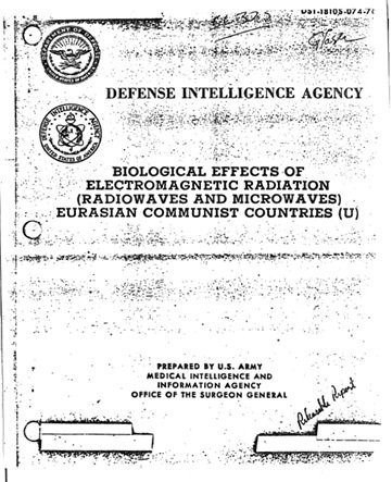 Biologiczne skutki promieniowania o częstotliwości radiowej w eurazjatyckich krajach komunistycznych. - 1976