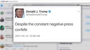 Despite the constant negative press covfefe