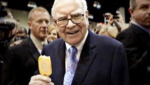 rożki lodowe mentora Gatesa, Warrena Buffetta