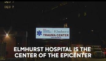 Szpital Elmhurst jako centrum samego epicentrum