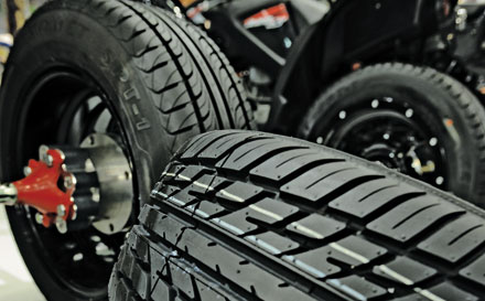 PERFORMANCE: Chemical makers are developing additives to make tires more fuel efficient, safer, and longer lasting.
