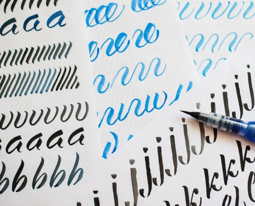 Online Kurs Hand Lettering