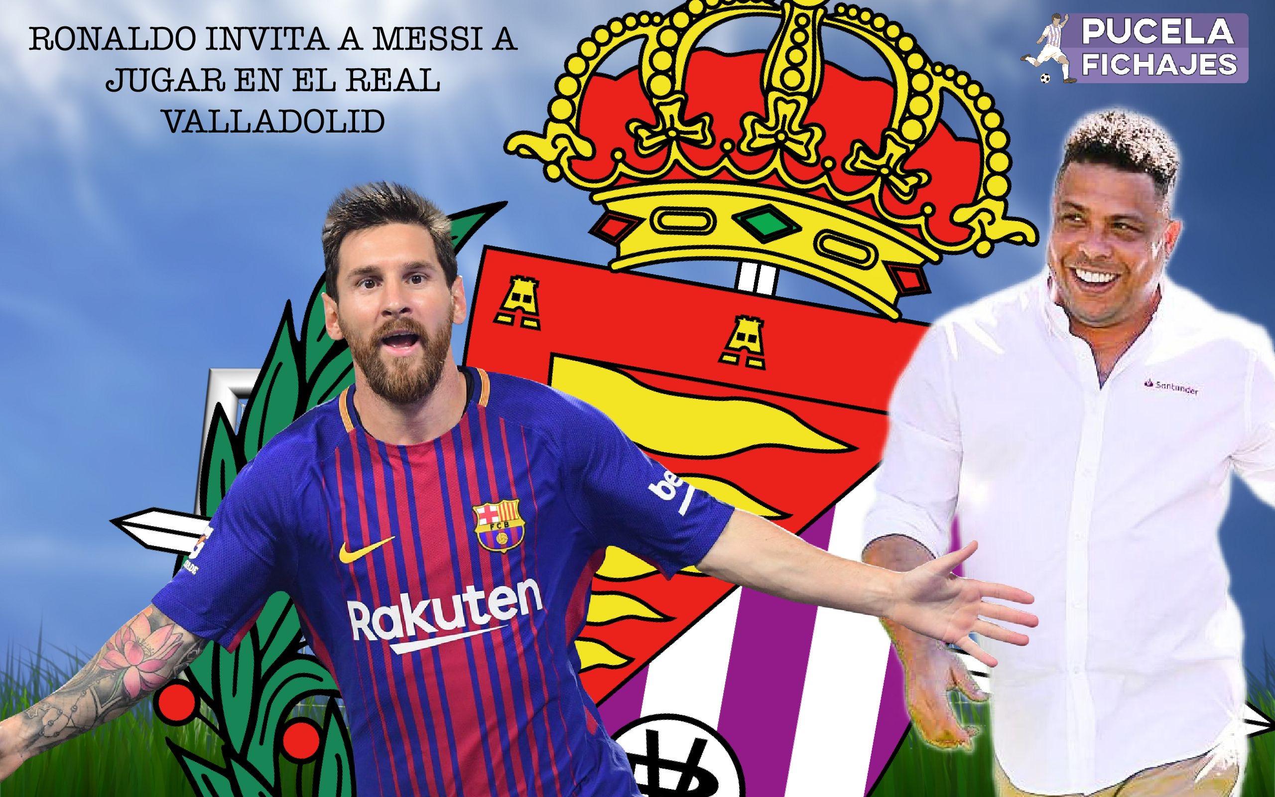 Ronaldo Si Yo Fuera Messi Dejaria Al Barcelona Para Ir