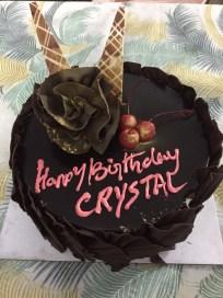 Crystal's Cake!