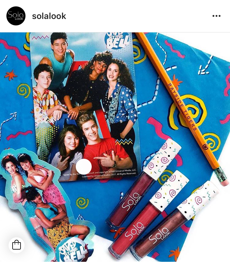 Sola Look Saved By The Bell Collection