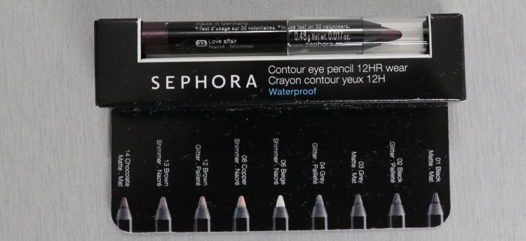 Sephora Contour Eye Pencil - Love Affair
