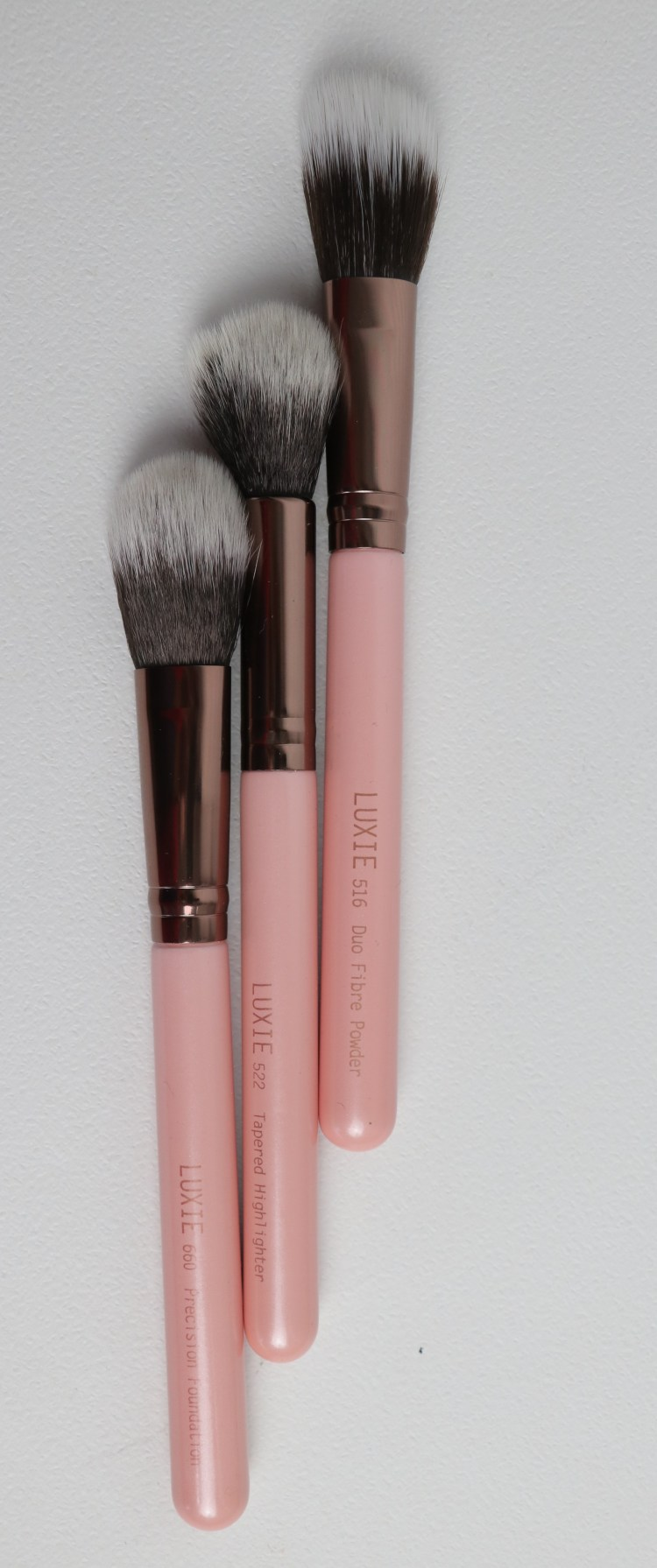 Boxycharm June 2018 - Luxie 3 Piece Flawless Complexion Brushes