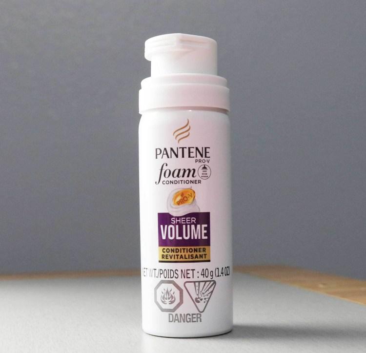 `Pantene Pro-V Sheer Volume Foam Conditioner`