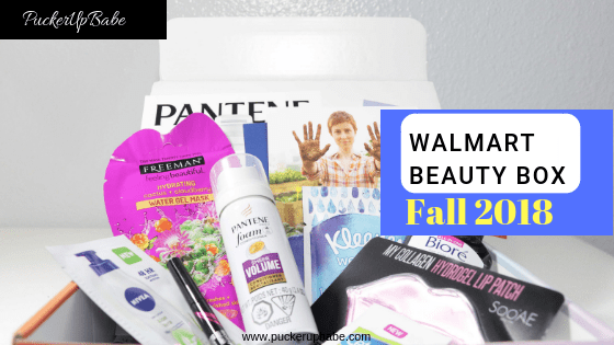 Walmart Beauty Box Fall 2018