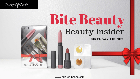 Sephora Beauty Insider Birthday Bite Lip Set