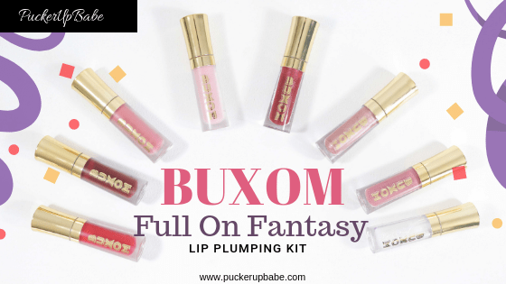 Buxom Full On Fantasy Lip Plumping Kit
