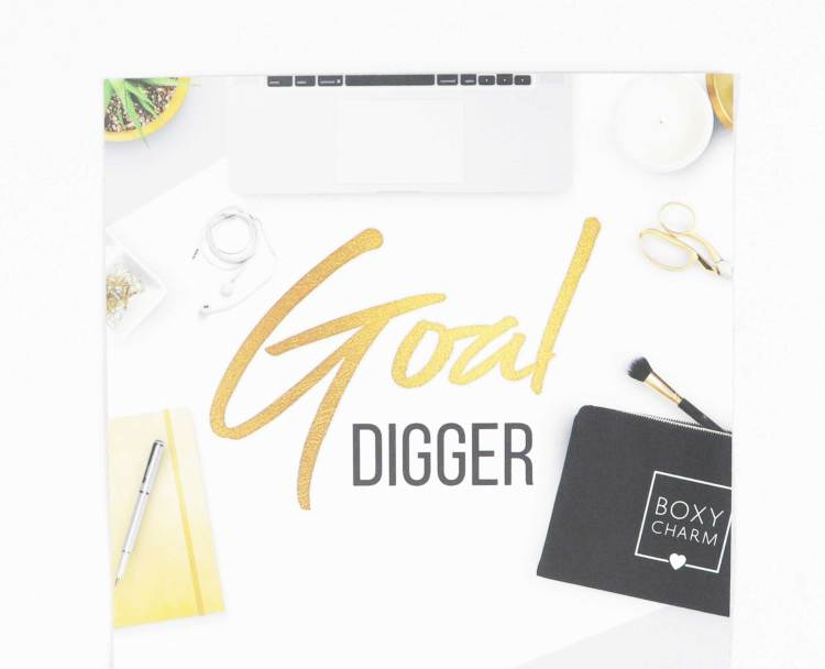 Boxycharm November 2018 Goal Digger | PuckerUpBabe