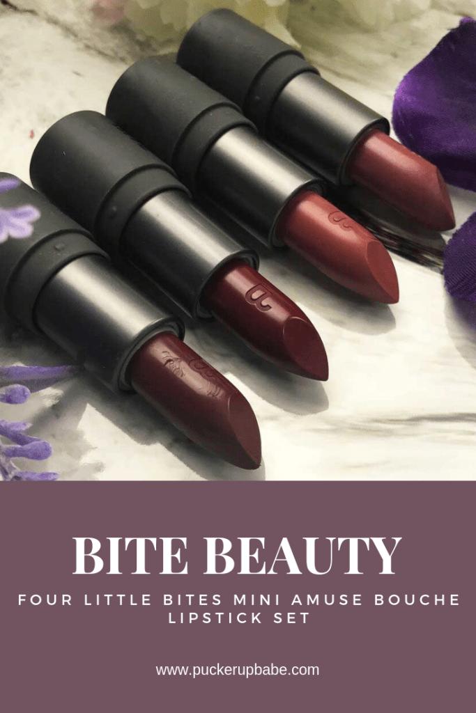 Bite Beauty Four Little Mini Amuse Bouche Lipsticks
