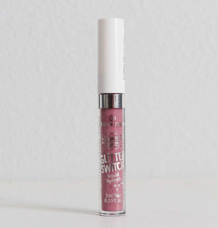 Essence Cosmic Cuties Glitter Switch Liquid Lipstick in Glittery Rose