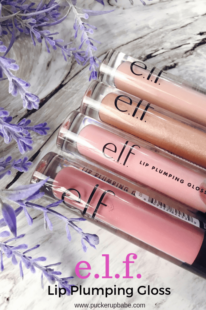 elf lip plumping lip gloss