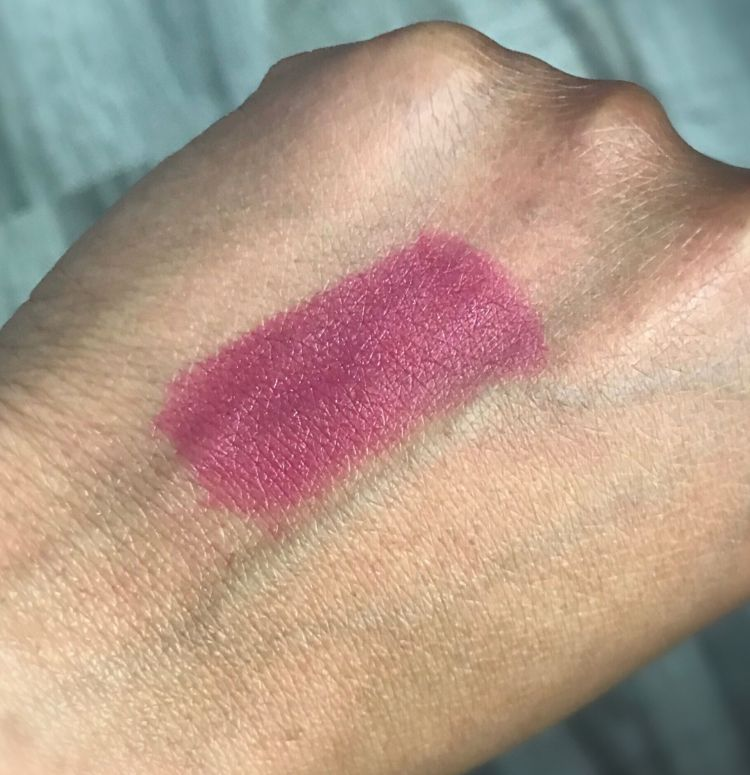 Flower Beauty Petal Pout Lip Color in Rouge Berry