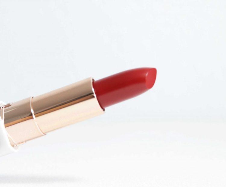Flower Beauty Petal Pout Lip Color in Ruby Rouge