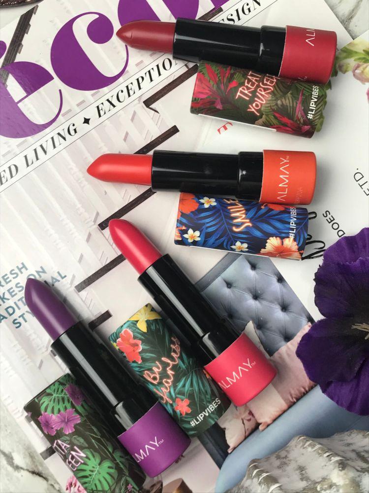 Almay Lip Vibes Matte Lipsticks
