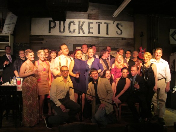 Studio Tenn celebrates at Puckett's in Franklin!
