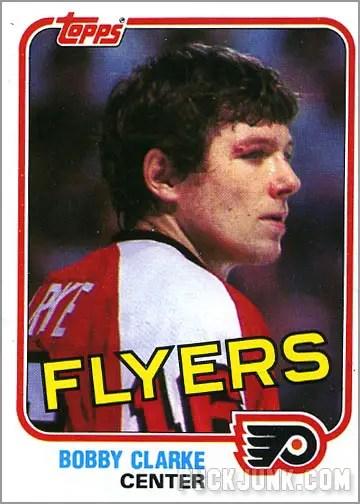 1981-82 Topps #103 East - Bobby Clarke