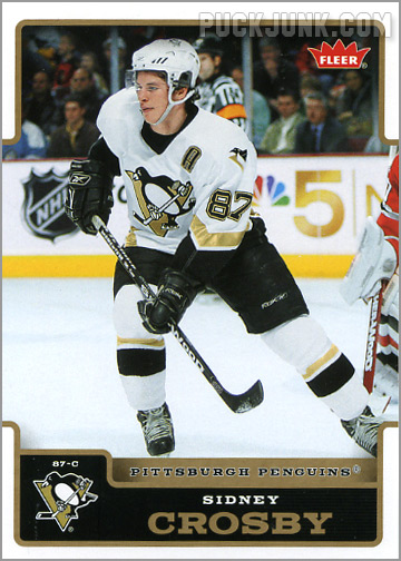 2006-07 Fleer #154 - Sidney Crosby