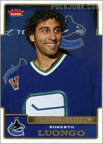 2006-07 Fleer #187 - Roberto Luongo