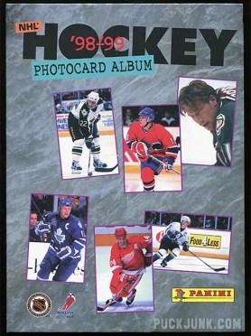 1998-99 Panini Photocards Album