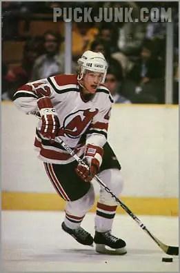 1985-86 New Jersey Devils #1 - Mark Johnson